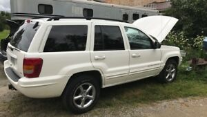 2001 Jeep Grand Cherokee part out