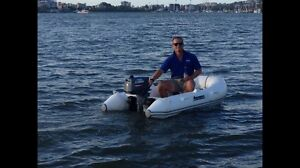 Aquapro inflatable and 4hp yamaha Hawthorne Brisbane South East Preview