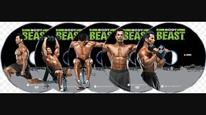 ISO Beachbody Body Beast DVD workouts