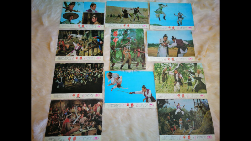 HELLFIGHTERS 1971  Original Poster and 11 Theatrical Lobby Cards  NEW
