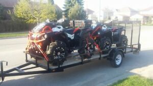 Can Am bikes, trailer, plow & warranty!