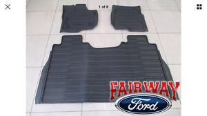 2015 - 2017 Ford F-150  supper crew floor mats
