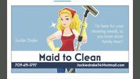 Cleaner available in your area !