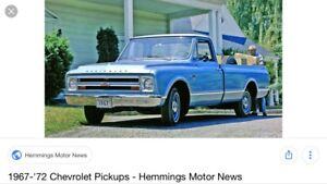1967 Chevy cad wanted