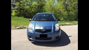 2007 Toyota Yaris CE coupe