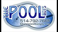 Swimming pool cleaning weekly maintenace The Pool Boys