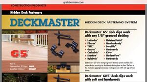 Hidden fixings (clip and screws) for decking Forrestfield Kalamunda Area Preview