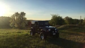 Jeep TJ for Sale/Trade for Can Am Renegade