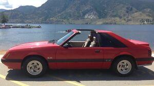 1986 mustang GT 5.0L