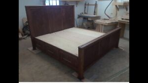 Solid custom made furniture
