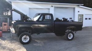 1985 k20 with 78 front clip