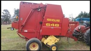 Looking for round baler