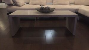 Custom Made Concrete Coffee Table / TV Stand