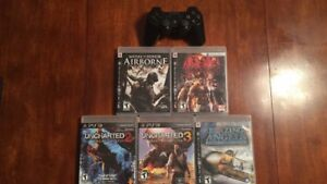 PS3 games and Sixaxis controller