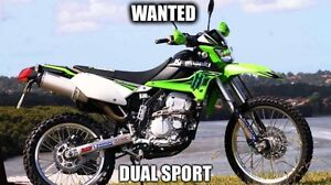Looking for dual sport motorcycle