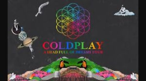 Coldplay 2 x GOLD TICKETS GA Banksia Rockdale Area Preview