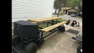 Picnic Table Go Cart