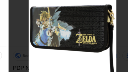 Lost Nintendo Switch Case and games