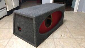 10 Inch JL Audio H.O Box