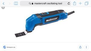 Mastercraft Oacilating tool used once like new