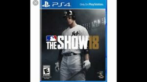 MLB The Show 18 ( PS4)