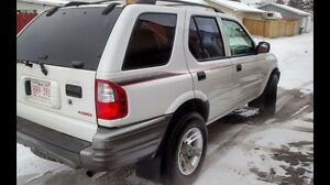 For Sale. 2001 Isuzu Rodeo. 204 000kms 3000 obo