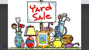Church Yard Sale (with BBQ and Bake Table)