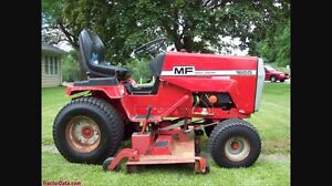 Lawn tractor MF 1655 or 1855