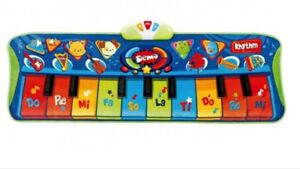 Tapis piano musical