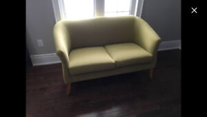 Small green couch
