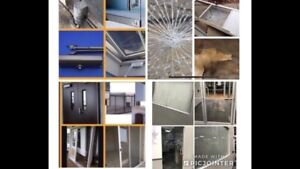 Commercial doors & residential windows services