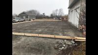 Concrete driveway or walkway removal