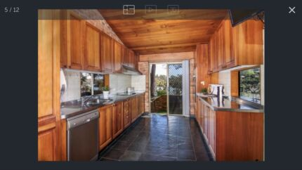 Timber Kitchen with appliances