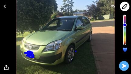 2008 Kia Rio great first car great on fuel no low ballers