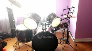 7 Piece Baojia Drumset For Sale