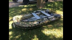 10' zodiac style inflatable boats / dinghy $999.00