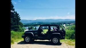 2017 Jeep Wrangler Purchased New July 2018