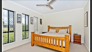 King size bed frame Warner Pine Rivers Area Preview
