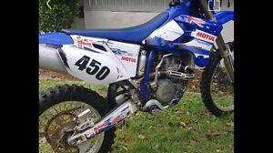 Yamaha WR450f motorbike dirtbike Broadbeach Waters Gold Coast City Preview