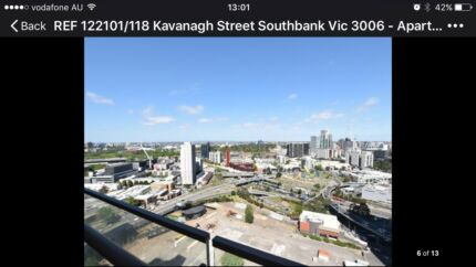Southbank Apartment 2/2/1 for rent high floor stunning view