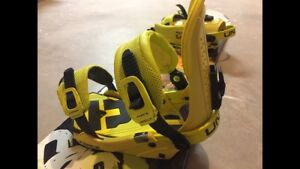 Snowboard Gear - Rome Board, Union Binding, 32 Boots