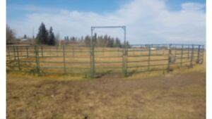 50 or 100 foot round pen