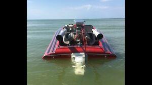 Jet boat sleekcraft SST tunnel BBC
