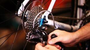 Cheap rates on bicycle repairs