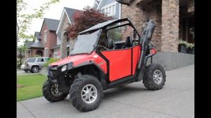 2011 Polaris RZRs with trailer