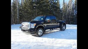 PENDING: 2016 Ford F450 Platinum Dually