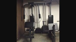 Weider pro 9940 body building machine exerciseur