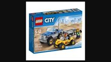 Brand new LEGO® City Great Vehicles Dune Buggy Trailer 60082 Ashburton Boroondara Area Preview