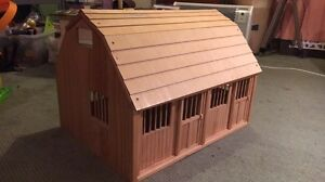 Toy timber horse stables Leongatha South Gippsland Preview