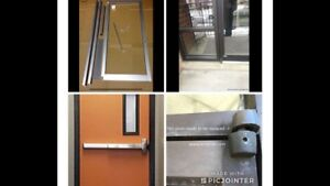 ,Storefront / curtainwall  doors& windows services